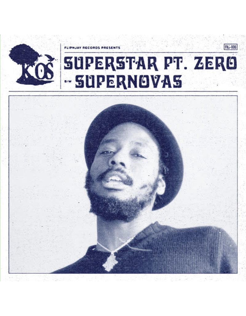 "K-Os – Superstarr Pt. Zero / Supernovas 7"" (2020), Limited Edition"