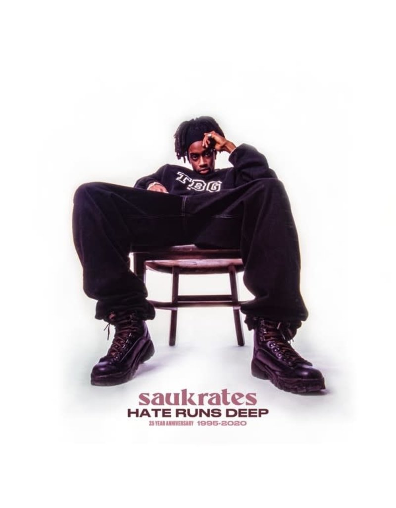 "Saukrates ‎– Hate Runs Deep 7"" (2020), Limited Edition"