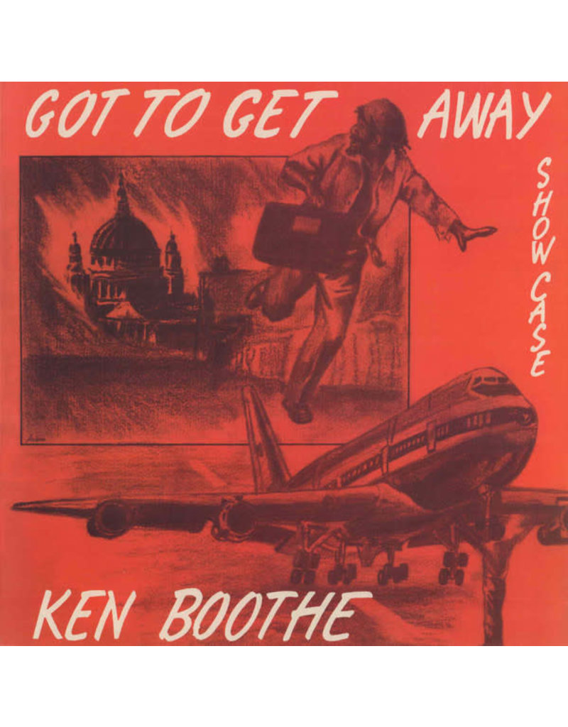 Burning Sounds Ken Boothe ‎– Got To Get Away Showcase LP