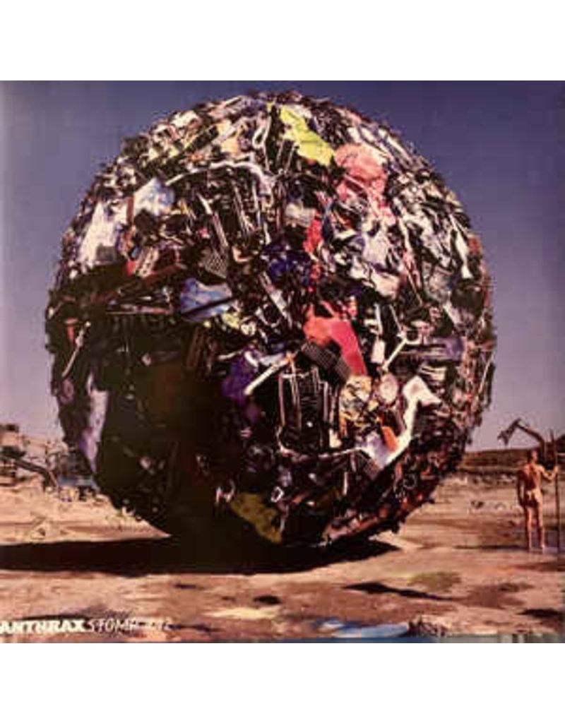 Anthrax – Stomp 442 2LP (2021 Reissue), Blue Opaque Vinyl