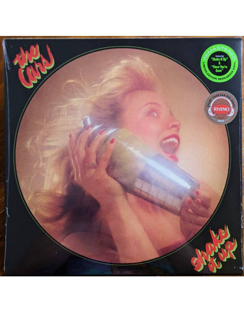 The Cars – Shake It Up LP (2021) Limited Edition, Green (Neon)