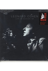 Leonard Cohen ‎– Live In Session '68 LP (2020), Limited Edition, White Vinyl