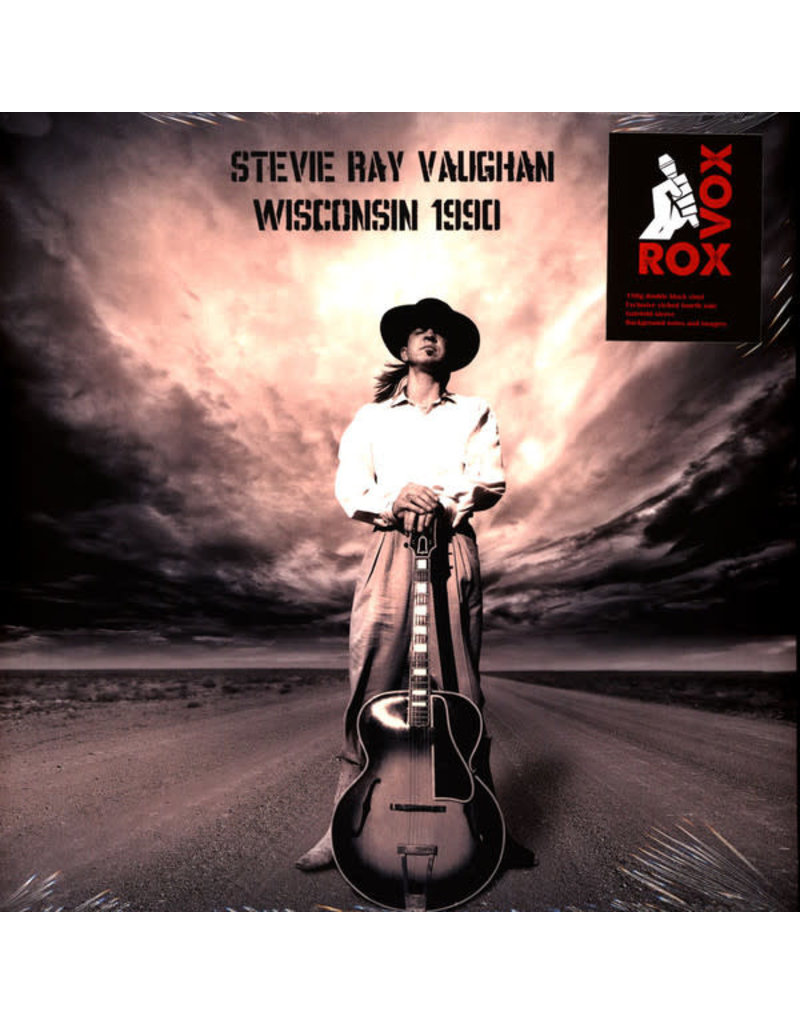 Stevie Vaughan Ray - Wisconsin 1990 2LP (Single Sided, Etched, 180 gram)