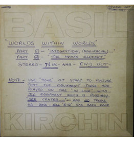JZ Basil Kirchin – Worlds Within Worlds LP [RSD2019], Reissue, Limited Edition