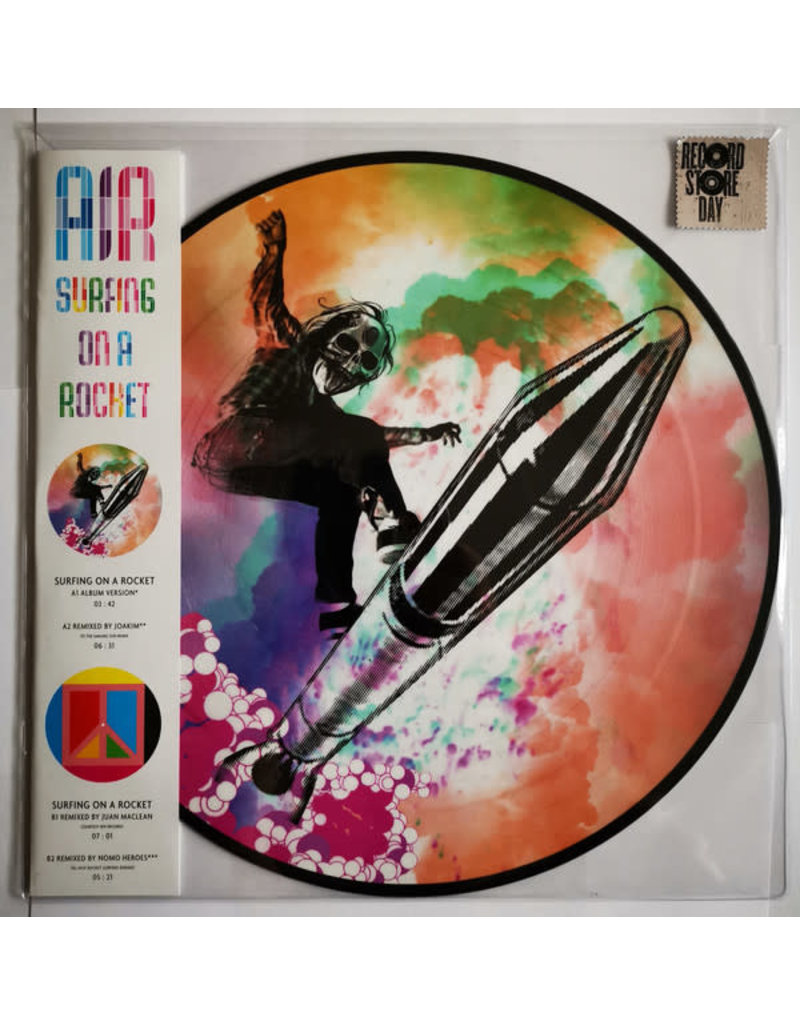 """EL AIR – Surfing On A Rocket 12"""" (Picture Disc) [RSD2019]"""