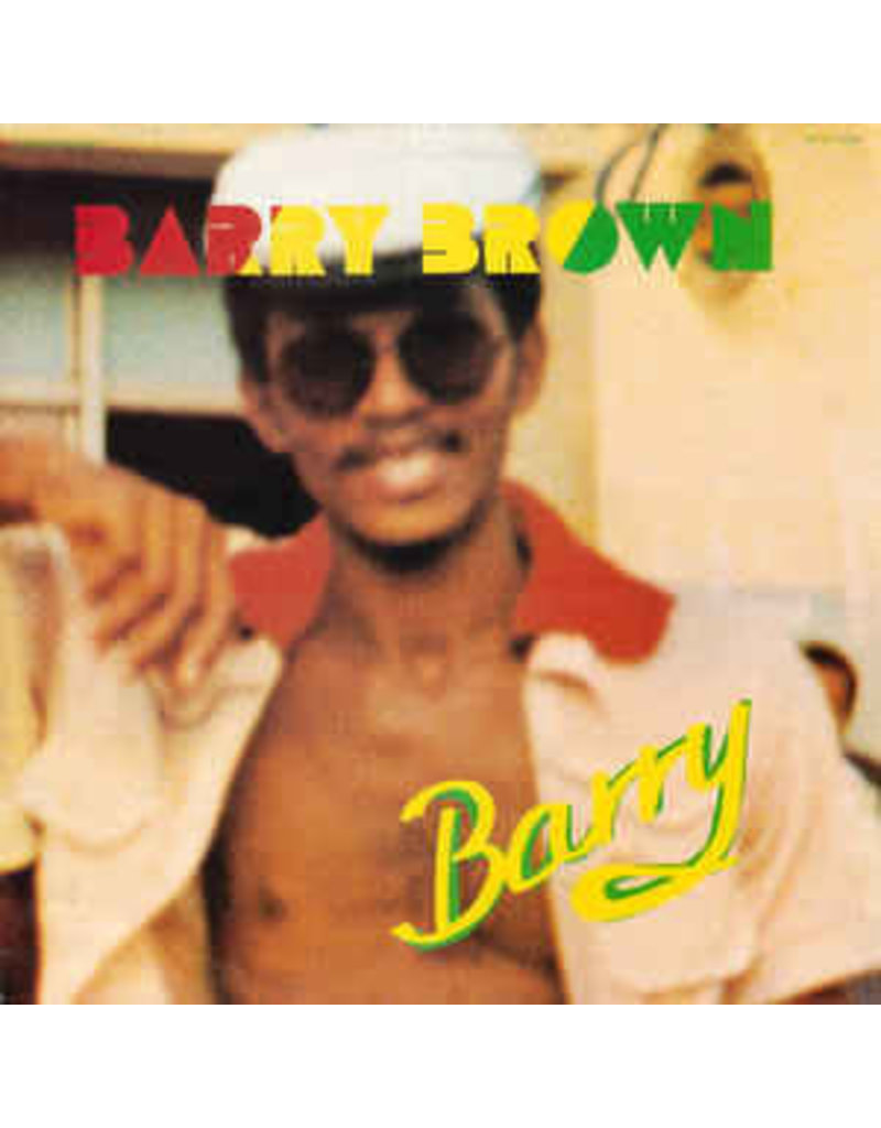RG Barry Brown ‎– Barry LP (2018 Reissue)