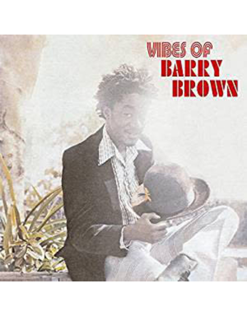 RG Barry Brown – Vibes Of Barry Brown LP (2018 Reissue)