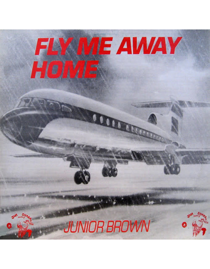 RG Junior Brown ‎– Fly Me Away Home LP (Reissue)