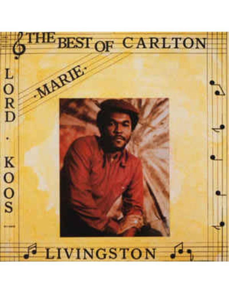 RG Carlton Livingston – Marie - The Best Of Carlton Livingston  LP