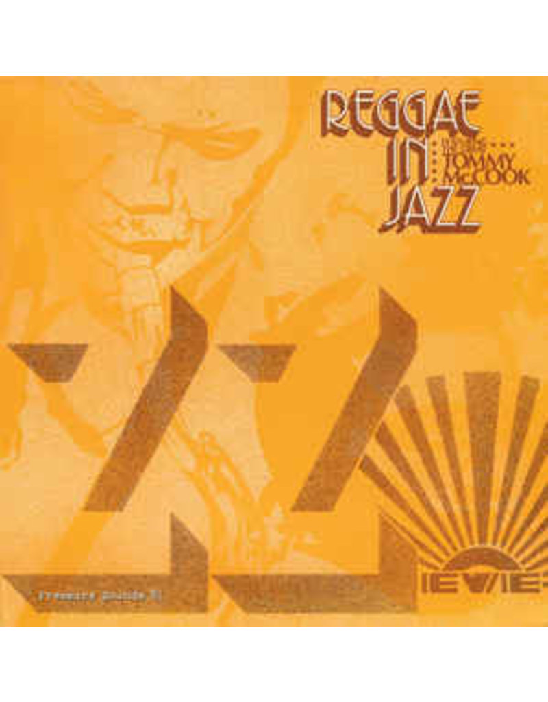 RG TOMMY MCCOOK - REGGAE IN JAZZ LP