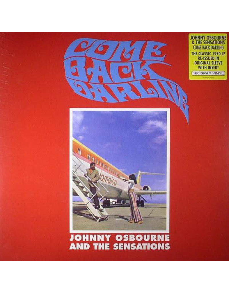RG Johnny Osbourne & The Sensations With Boris Gardiner & The Love People – Come Back Darling LP (2014 Reissue)