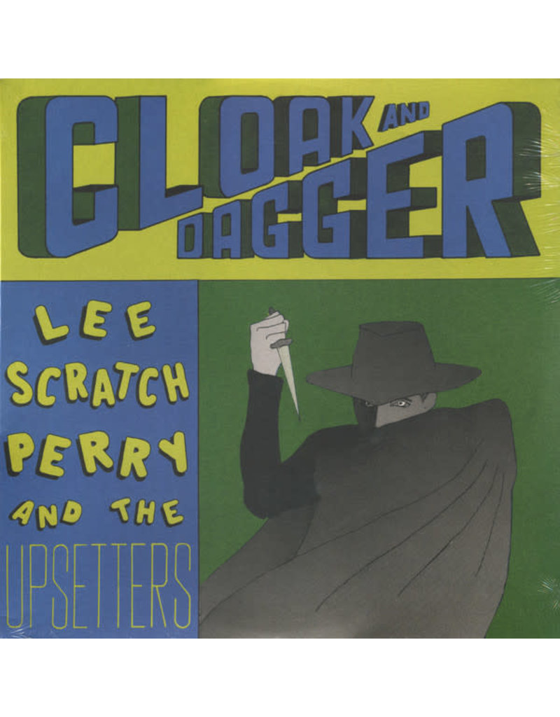 RG Lee Scratch Perry And The Upsetters* – Cloak And Dagger LP (2018 Reissue)