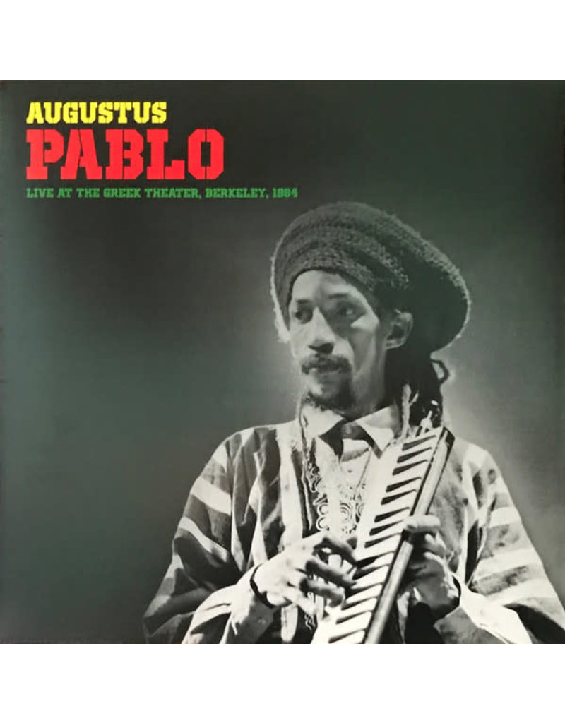 RG Augustus Pablo – Live At The Greek Theater, Berkeley 1984 LP (2018 Reissue), Limited Edition, Yellow Vinyl