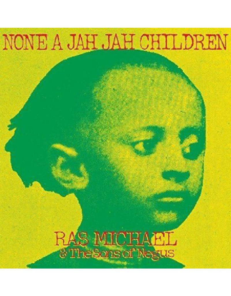 RG Ras Michael & The Sons Of Negus – None A Jah Jah Children LP (2018 Compilation)