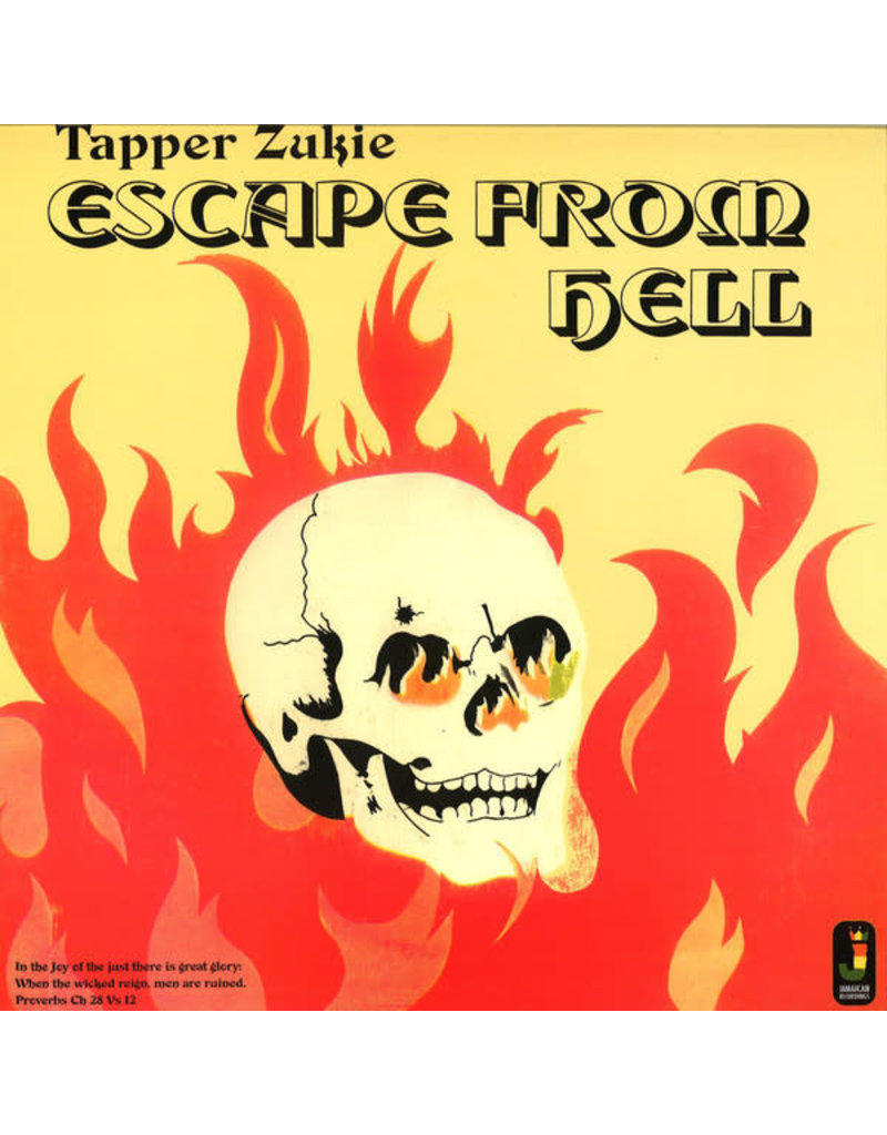 RG Tappa Zukie ‎– Escape From Hell LP