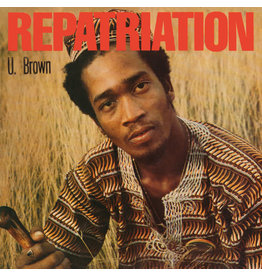 """RG U Brown – Repatriation LP+10"""" (2018 Reissue)"""