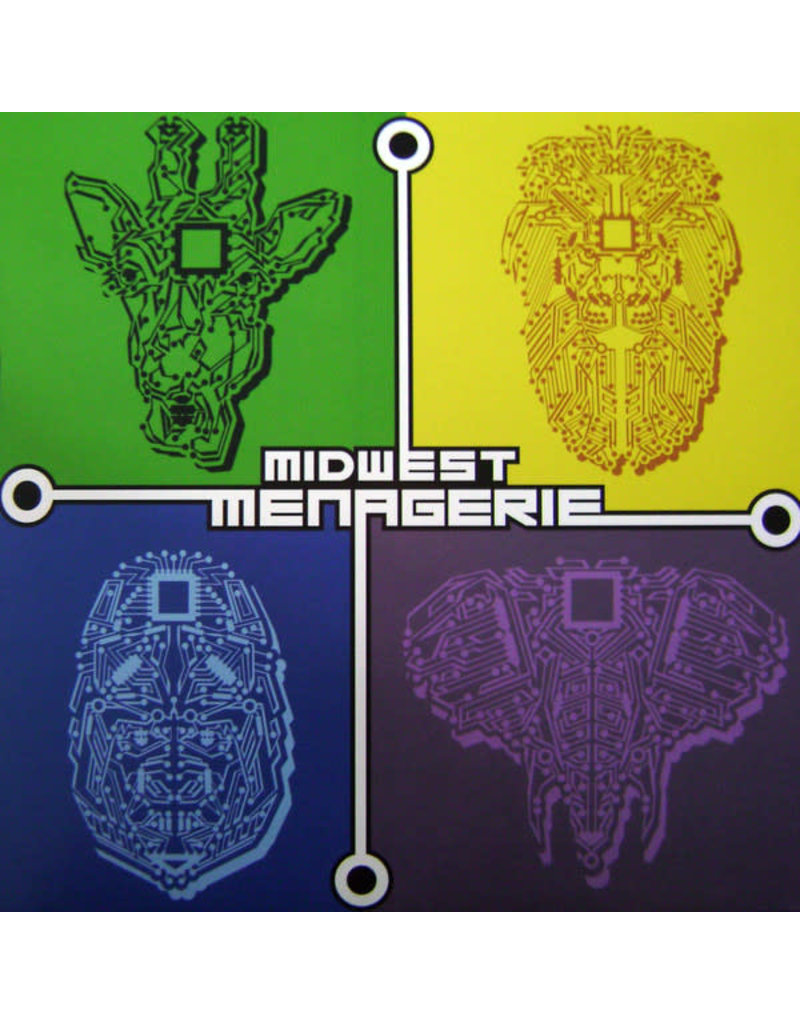"""HS Various – Midwest Menagerie 12"""" (2016)"""