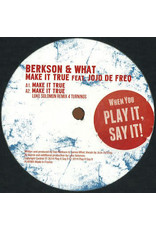 "HS Berkson & What Feat. JoJo De Freq ‎– Make It True 12"" (2014)"
