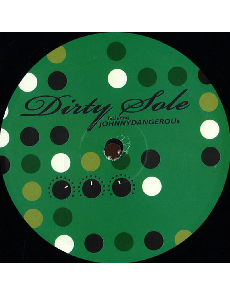 "HS Dirty Sole Featuring Johnny Dangerous ‎– Connect The Dots 12"" (2015)"