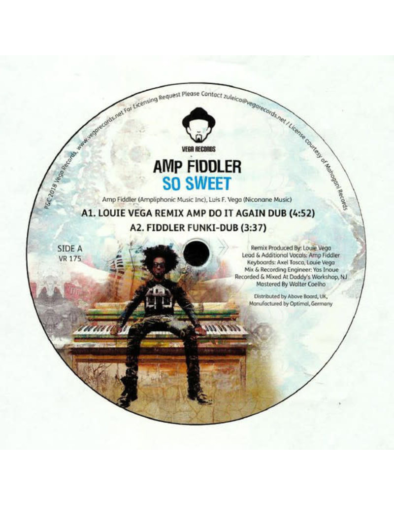 "HS Amp Fiddler ‎– So Sweet 12"" (2018)"