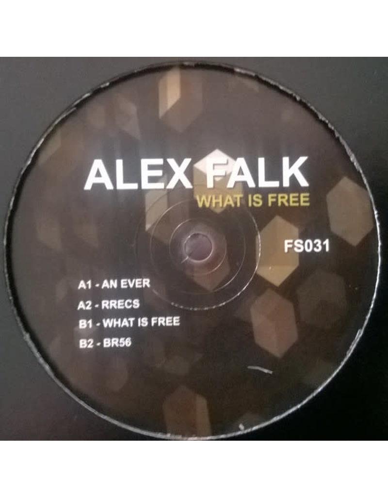 "HS Alex Falk – What Is Free 12"" (2015)"