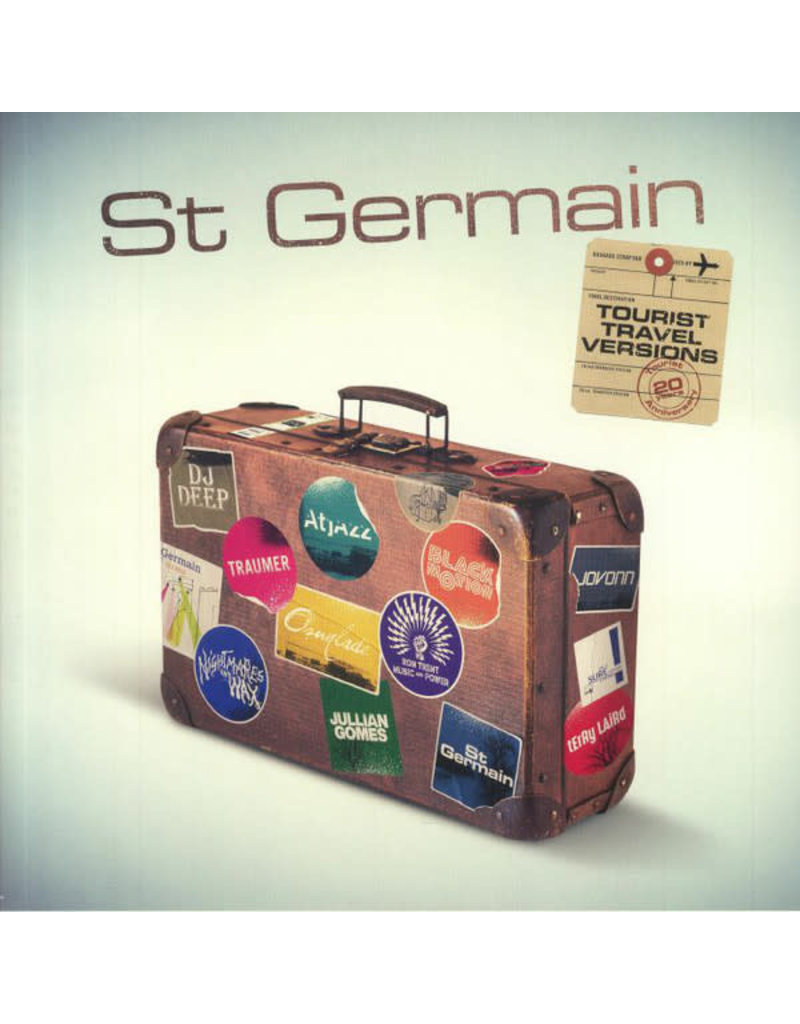 St Germain - Tourist 2LP (20th Anniversary Tourist Versions)