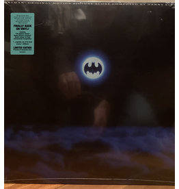 Danny Elfman ‎– Batman OST (2021 Repress), Turquoise Vinyl, Limited Edition