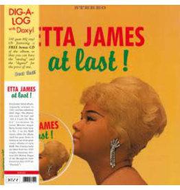FS Etta James – At Last! LP+CD+ 4 Bonus Tracks (2012 Europe Reissue), 180g
