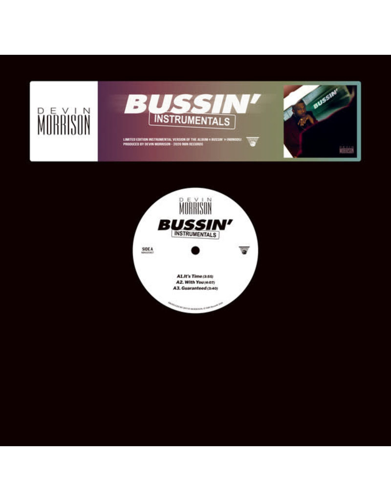 Devin Morrison – Bussin' (Instrumentals) 2LP (2020)