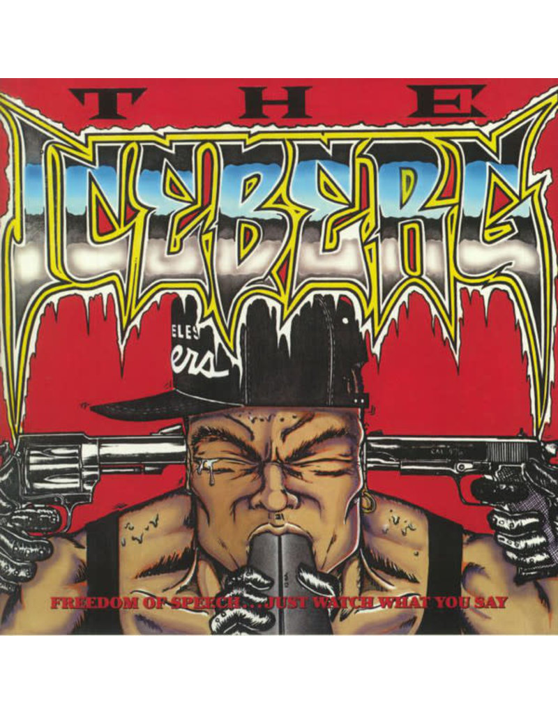 Ice-T – The Iceberg (Freedom Of Speech... Just Watch What You Say) LP (2021 Reissue), Red Vinyl, (Music On Vinyl), Limited 2000, Numbered