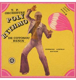 T.P. Orchestre Poly-Rythmo De Cotonou - Benin – Vol. 4 - Yehouessi Leopold Batteur LP (2021 Reissue)