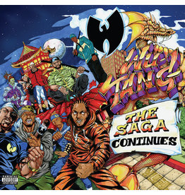 HH Wu-Tang ‎(Wu Tang Clan) – The Saga Continues 2LP