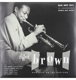 "JZ Clifford Brown ‎– New Star On The Horizon 10"" (2015 Reissue)"