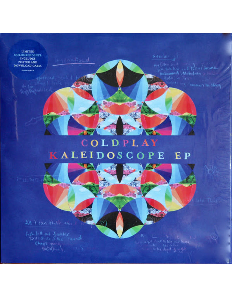 Coldplay – Kaleidoscope EP, Limited Edition, 180g, Coloured Vinyl
