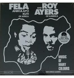 Fela Anikulapo Kuti And Roy Ayers – Music Of Many Colours (2019 Reissue), Limited Edition, Rainbow Starburst