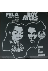 Fela Anikulapo Kuti And Roy Ayers ‎– Music Of Many Colours (2019 Reissue), Limited Edition, Rainbow Starburst