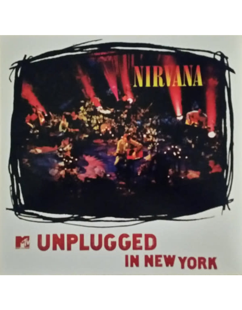 RK Nirvana – MTV Unplugged In New York LP (Reissue), 180g Pressed in Germany