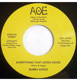 """FS Bubba Suggs – Everything That Looks Good / You Don't Deserve 7"""""""