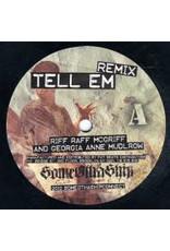 """Riff Raff McGriff & Georgia Anne Muldrow – Tell Em (Remix) / Rhythms Of The Forest 7"""" (2012)"""