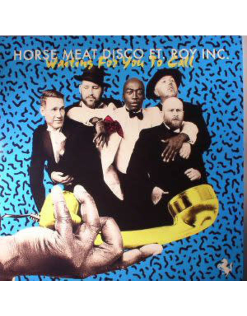 """HS Horse Meat Disco Ft. Roy Inc. – Waiting For You To Call 12""""  (2017)"""