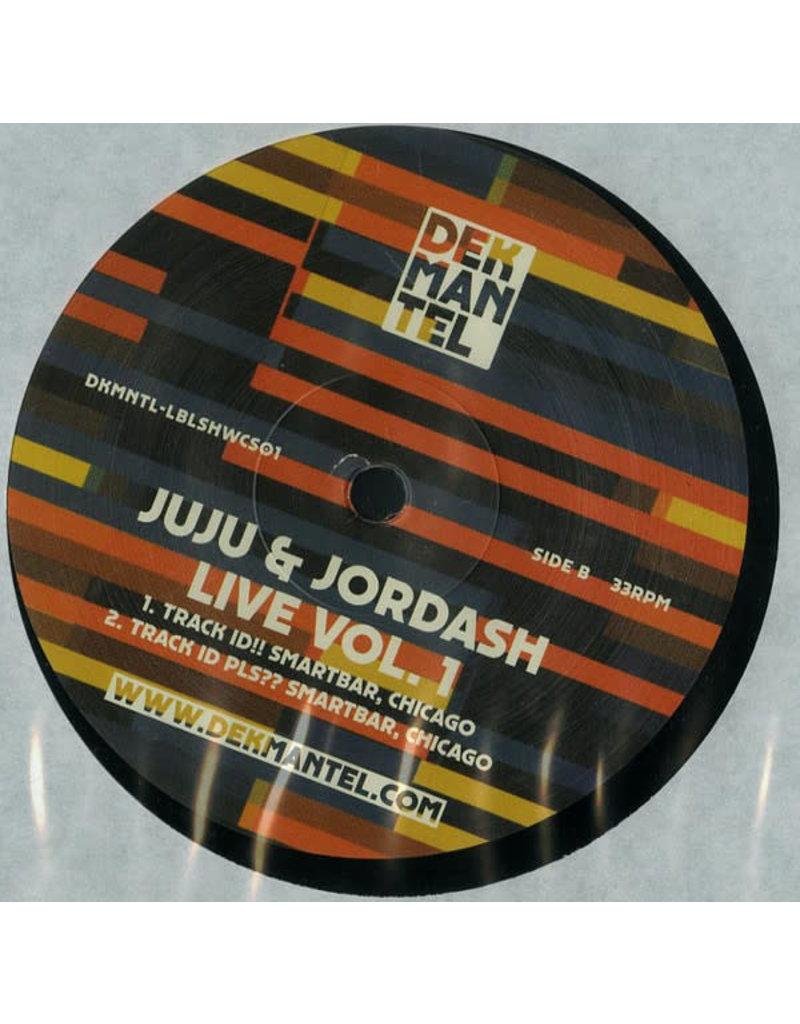 "HS Juju & Jordash – Live Vol. 1 12"" (2016)"