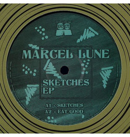 "HS Marcel Lune ‎– Sketches EP  12"" (2016)"