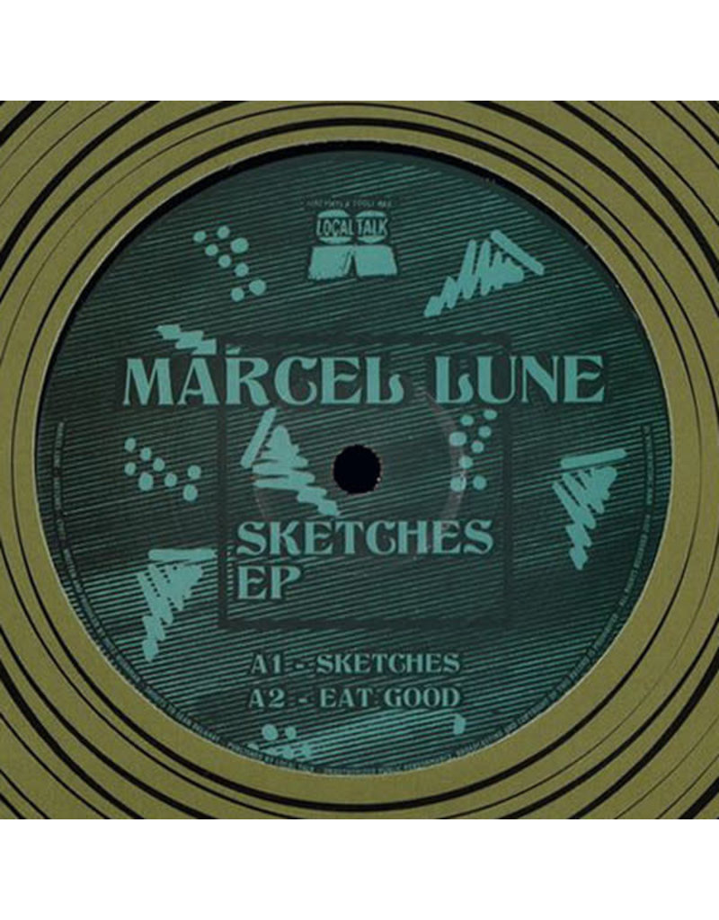 """HS Marcel Lune – Sketches EP  12"""" (2016)"""