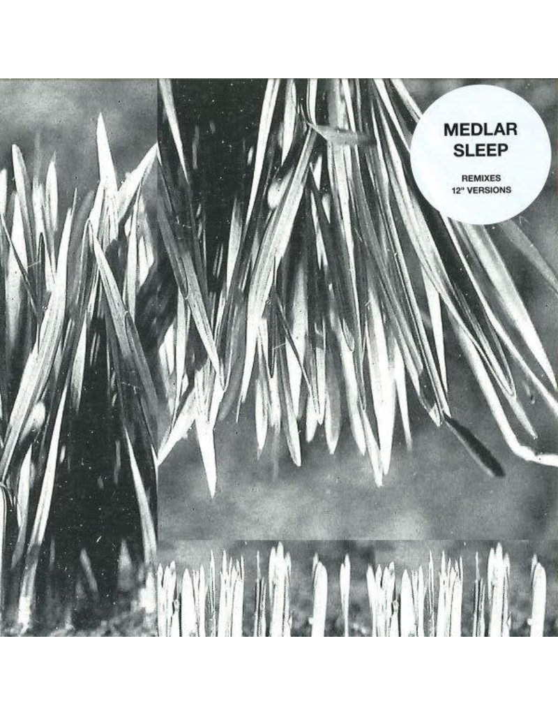 "HS Medlar ‎– Sleep (Remixes And 12"" Versions) 12"" (2014)"