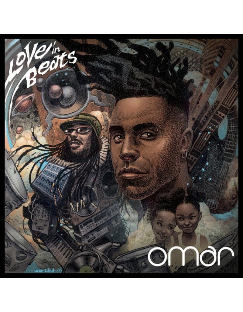 Omar – Love In Beats CD (2017)