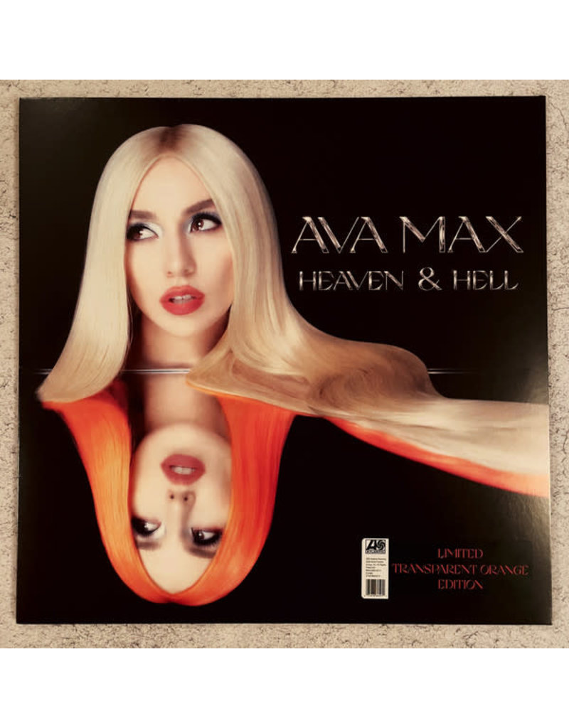 Ava Max ‎– Heaven & Hell LP (2020), Limited Edition, Orange, Transparent