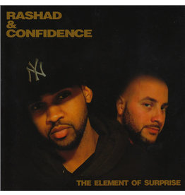 Rashad &Confidence - The Element of Surprise CD