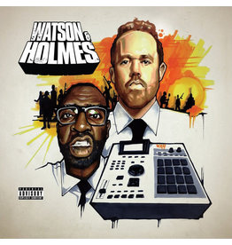 HH BLACSTAN & STU BANGAS - THE UNCANNY ADVENTURES OF WATSON & HOLMES CD