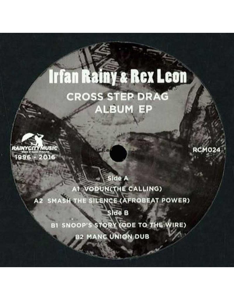 "HS Irfan Rainy & Rex Leon – Cross Step Drag Album EP 12"" (2016)"