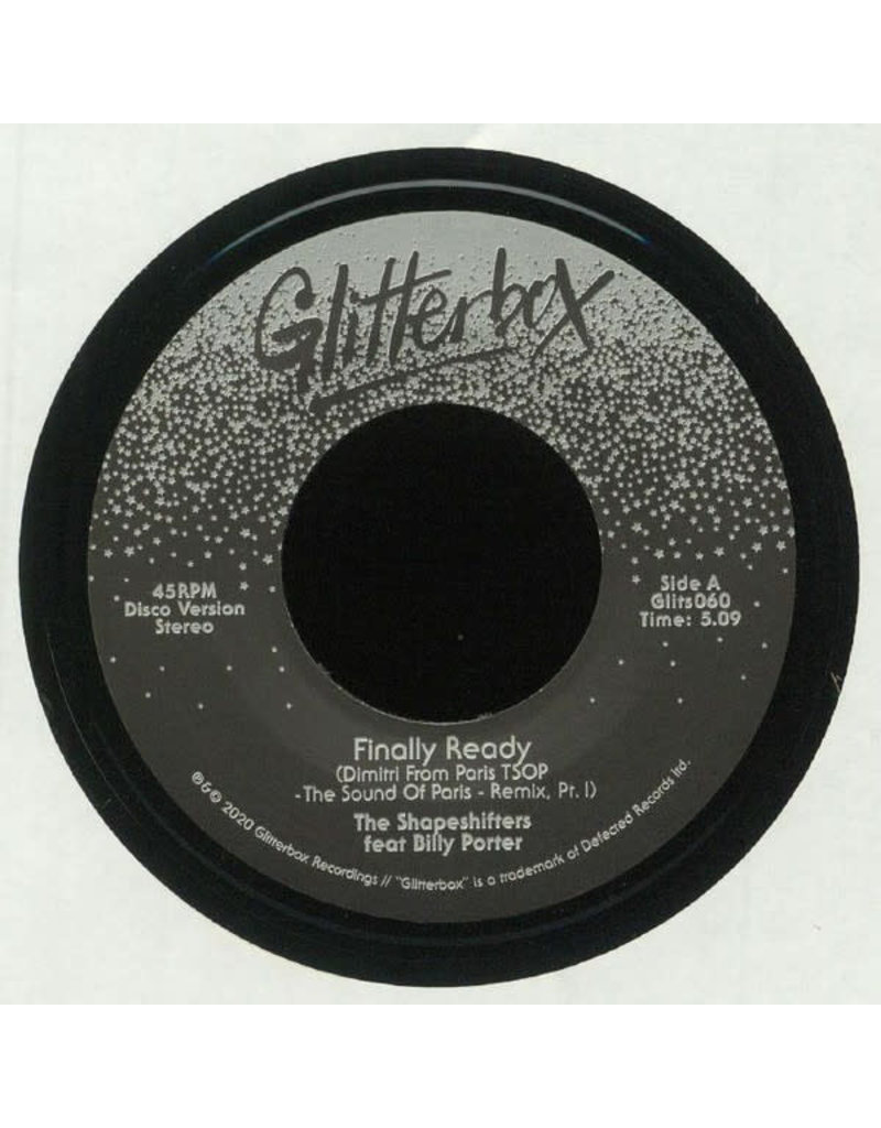 """The Shapeshifters Feat Billy Porter – Finally Ready (Dimitri From Paris TSOP - The Sound Of Paris - Remix) 7"""""""